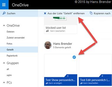 OneDrive: Zu meinem OneDrive hinzufügen