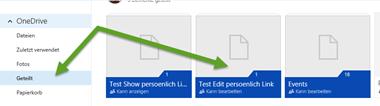OneDrive: Zu meinem OneDrive hinzufügen: Schritt 1