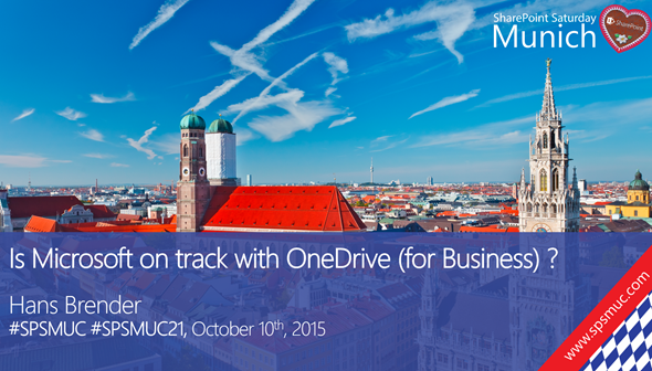SharePoint Saturday 2015 Munich