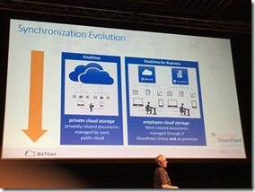 Evolution von Groove bis Next Generation Sync Client