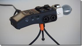 das wichtigste: Kondensator-Microfon