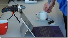 realer Kaffee zum MVPKaffeeklatsch