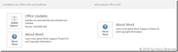 MSI or C2R Installation