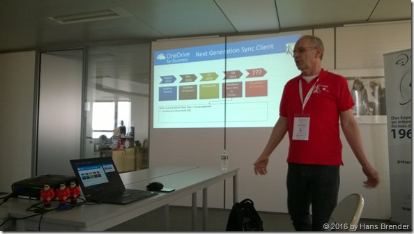 My Session about NGSC