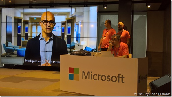 Keynote with Video of of Satya Nadella
