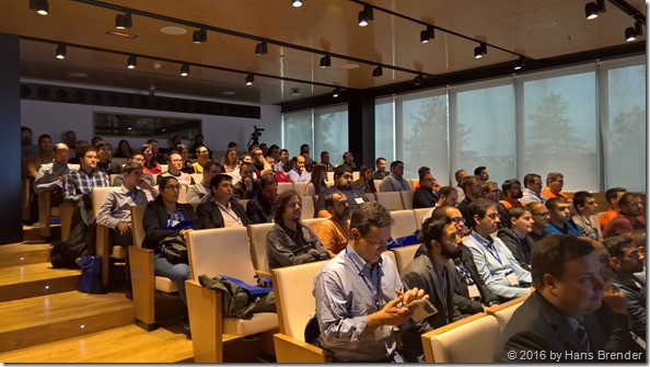 some of the attendees of the SharePoint Saturtday Madrid