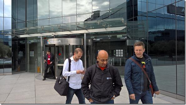 Microsoft building Madrid