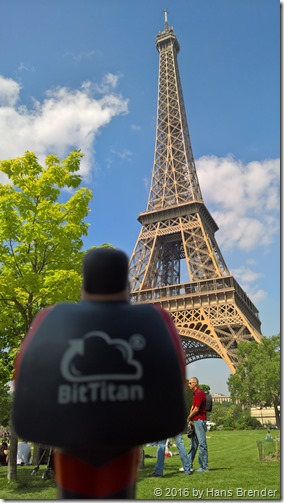 BTBoy and The Eiffel Tower