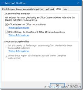 OneDrive Office Kartenreiter