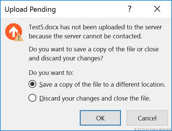 Upload Pending error | Hans Brender's Blog