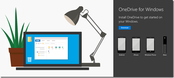 new Webdesign of the Microsoft Download site