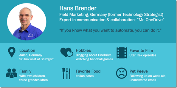 About Hans Brender