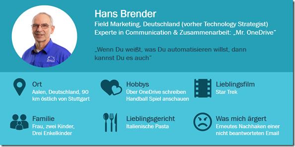 Über Hans Brender