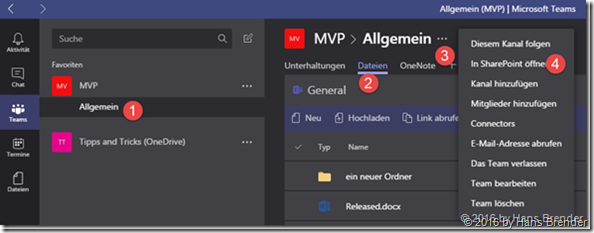 Step by step guidance to sync files from Microsoft Teams to your local device