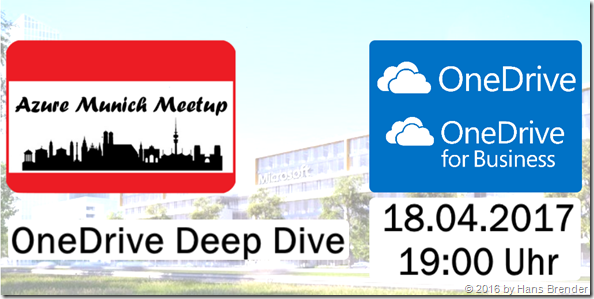 Azure Meetup Munich: OneDrive Deep Dive
