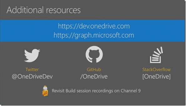OneDrive für Entwickler
