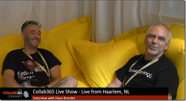 30 minutes live: Andy Talbot and Hans Brender