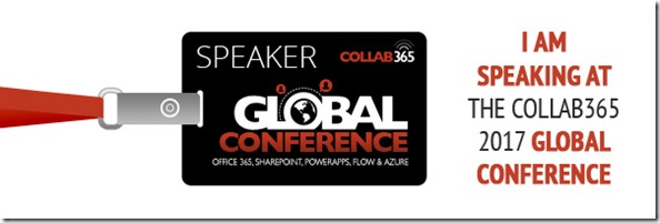 Speaking at Global Conference 2017