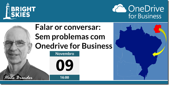 Falar or conversar: Sem problemas com Onedrive for Business