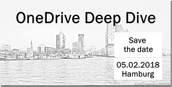 Office 365 User Group in Hamburg: OneDrive Deep Dive