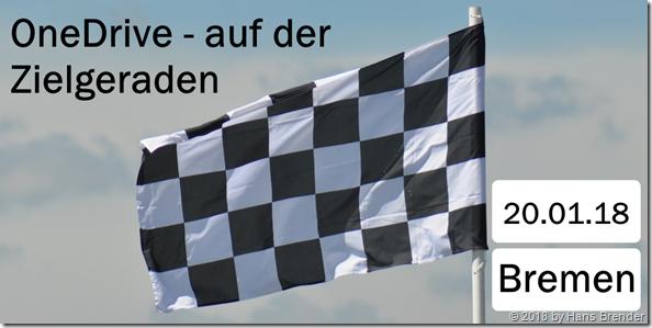 SharePoint Saturday Bremen: OneDrive auf der Zielgeraden