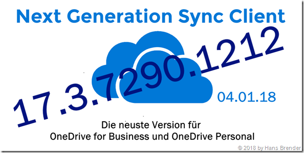Next Generation Sync Client Version 17.3.7290.1212