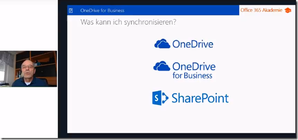 Video-Interview zu OneDrive, OneDrive for Business und Synchronisation