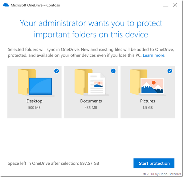 "Administration: Neues ""Redirect""  nach Bewegen zu OneDrive for Business"