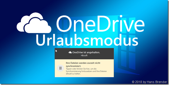 OneDrive Wunsch: Urlaubsmodus