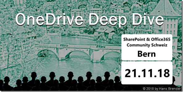 OneDrive Deep Dive in Bern