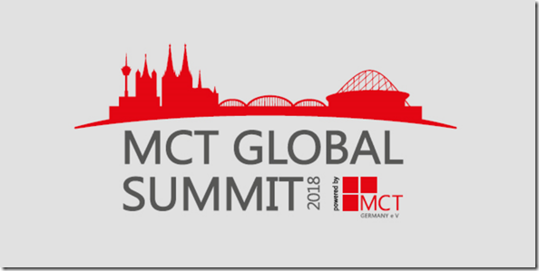 MCT Global Summit in Brühl