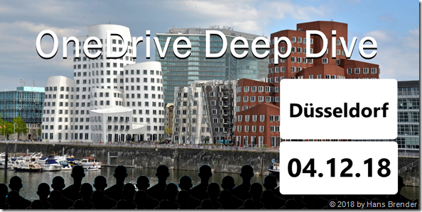 OneDrive Deep Dive in Düsseldorf