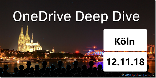 OneDrive Deep Dive in Köln