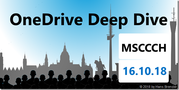 OneDrive Deep Dive in Hannover