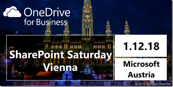 SharePoint Saturday Vienna 2018