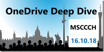OneDrive Deep Dive 2018 in Hannover