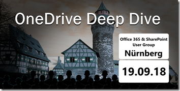 OneDrive Deep Dive 2018 in Nürnberg