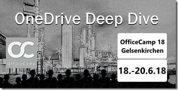 OneDrive Deep Dive 2018 in Gelsenkirchen