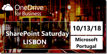 SharePoint Saturday Lisbon 2018