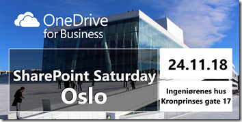 SharePoint Saturday Oslo 2018