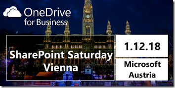 SharePoint Saturday Wien 2018