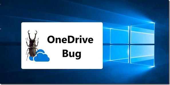 OneDrive Bug