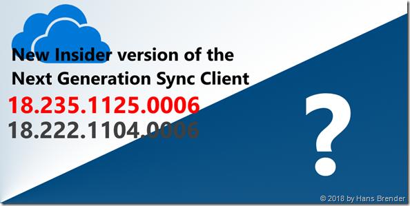 Next Generation Sync Client 18.235.1125.0006