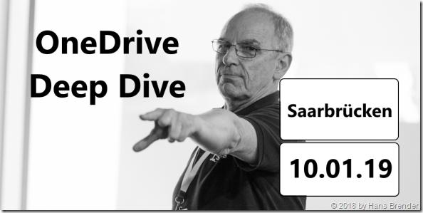 OneDrive Deep Dive Tour 2019: Saarbrücken