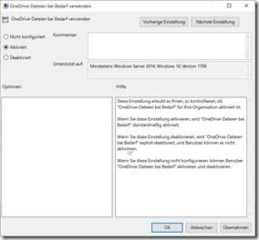Editor für lokale Gruppenrichtlinien: Konfigurieren von Team-Websitebibliotheken für die automatische Synchronisierung