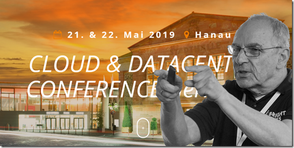 Mr. OneDrive auf der CDC 2019 in Hanau