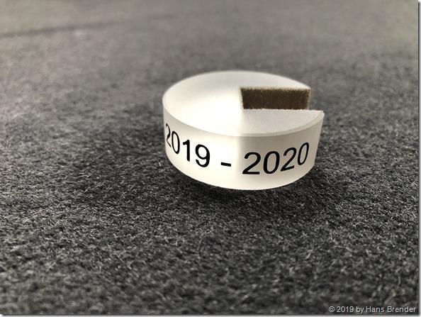 Der 2019/2020 MVP Ring