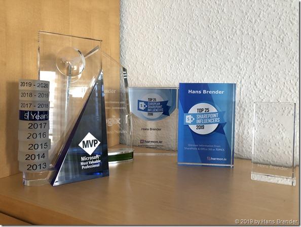 Alle Auszeichnungen der letzten Jahre