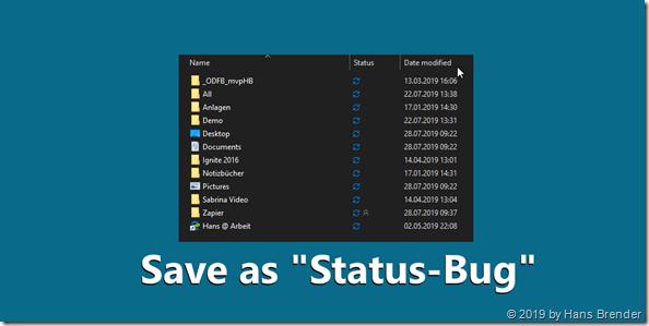 OneDrive DLL Bug