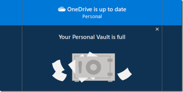 OneDrive - Personal vault